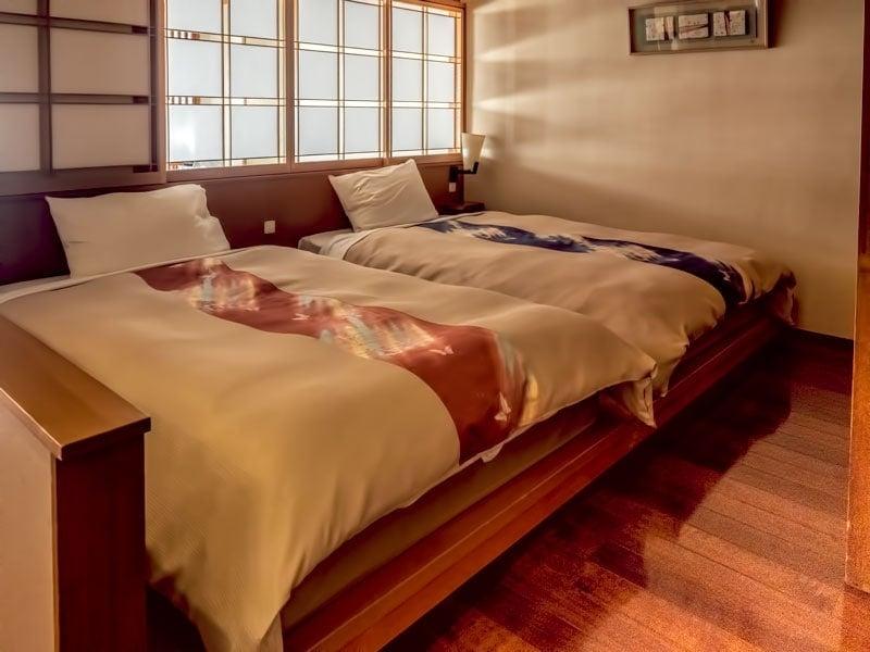 Japanese - Western room at Kinugawa Grand Hotel