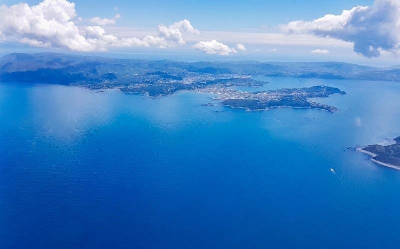 Jetstar views of Wellington