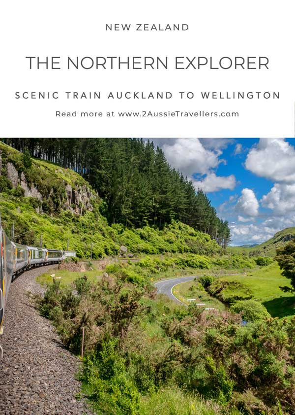 Northern Explorer train New Zealand