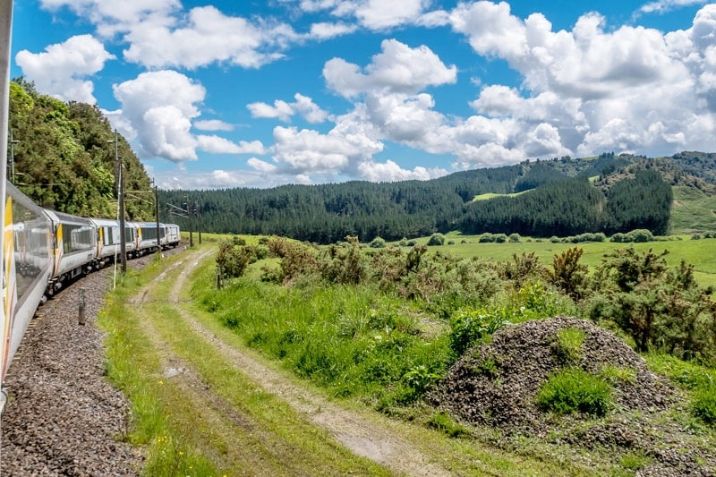 Northern Explorer Rail Trip
