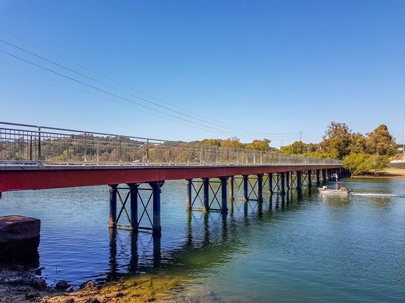 Puente ferroviario de Currumbin Creek