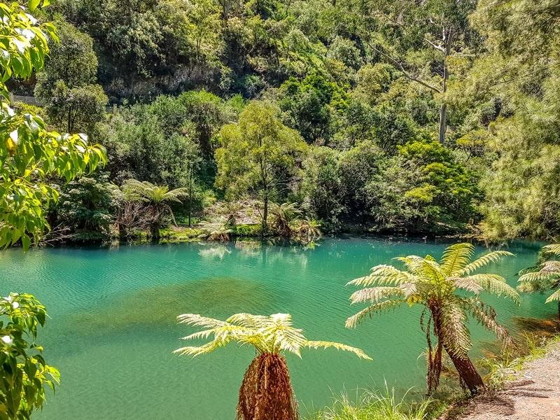Blue Lake at Jenolan Caves