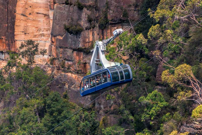 Scenic Cableway in the Blue Mountains
