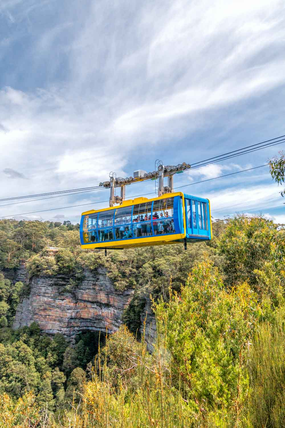 Skyrail at Scenic World in the Blue Mountains