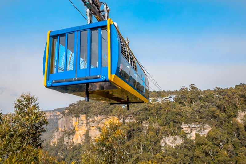 Scenic Skyway Blue Mountains