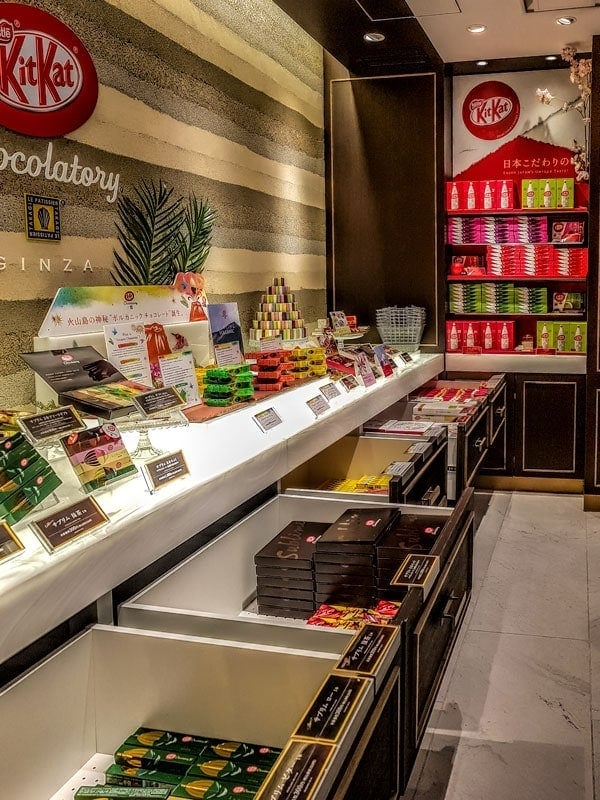 KitKat Flagship store in Ginza