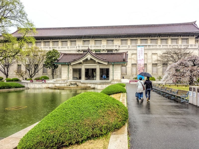 National Museum omn Tokyo