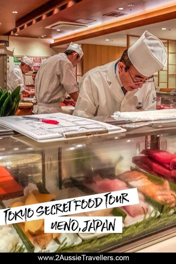 Ueno Tokyo secret food tour