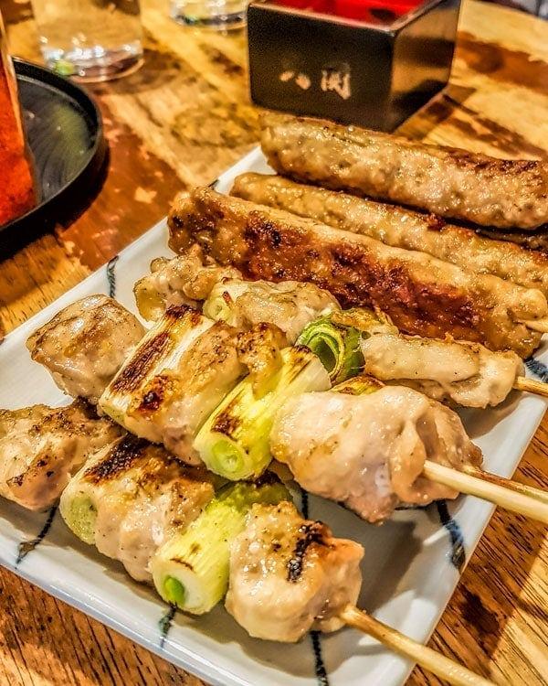 Yakitori - Ueno food
