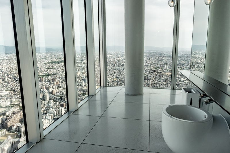 Loos with a view at Harukas 300