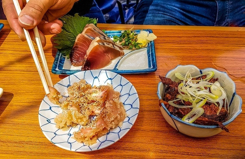 A few of our Japanese lunch dishes