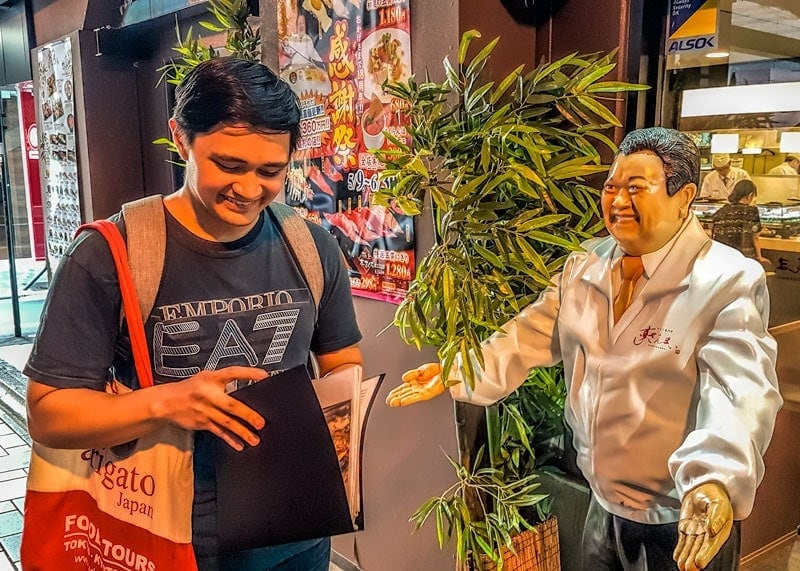 Ryan Allstars Tokyo Food Tour