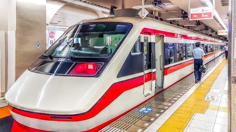 Tobu railways train