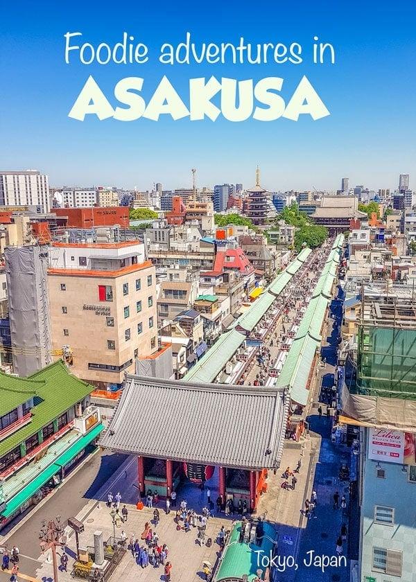 Tokyo food tour in Asakusa