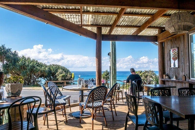 The Blue Room Cafe at Point Lookout