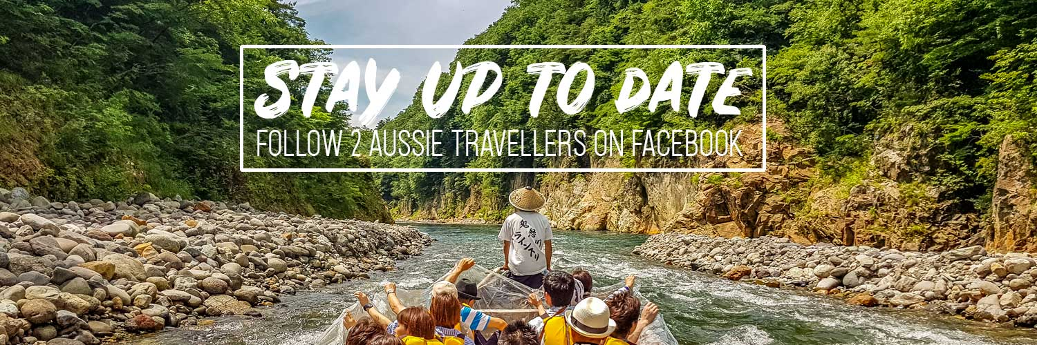 Follow 2 Aussie Travellers on Facebook