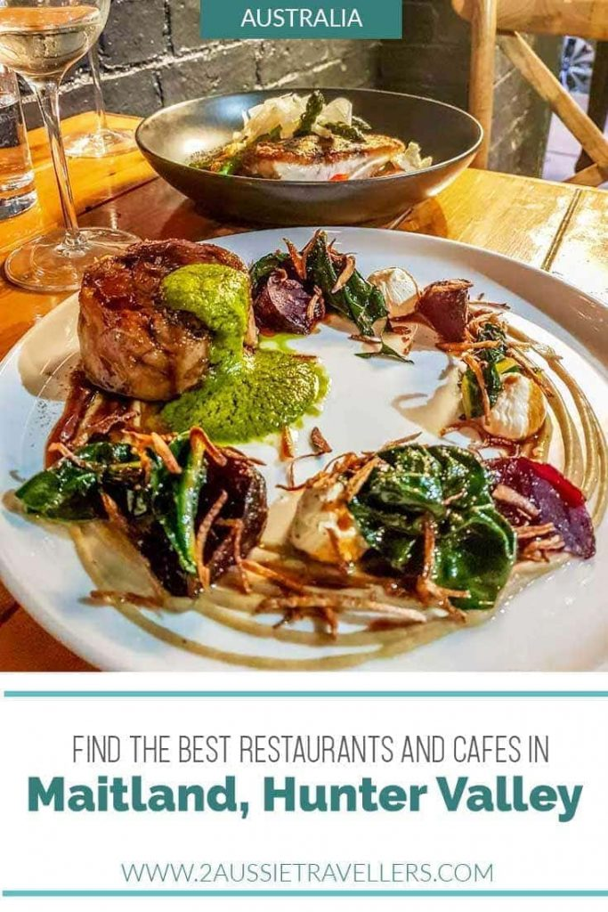 Maitland restaurants and cafes in the Hunter Valley