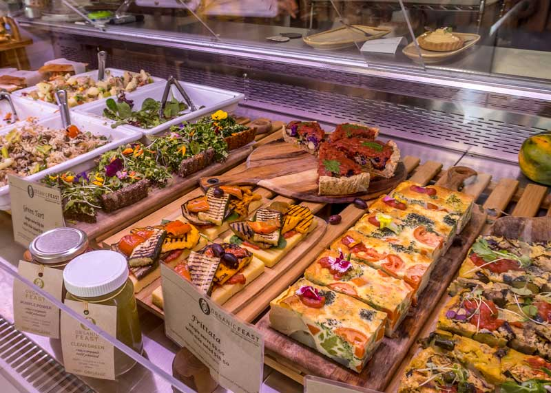 Organic Feast counter Maitland