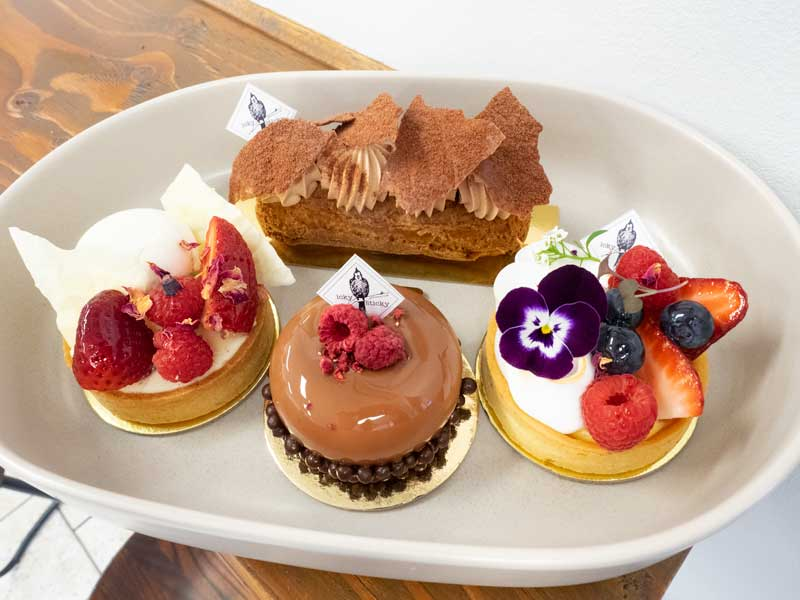Cakes at Icky Sticky Patisserie
