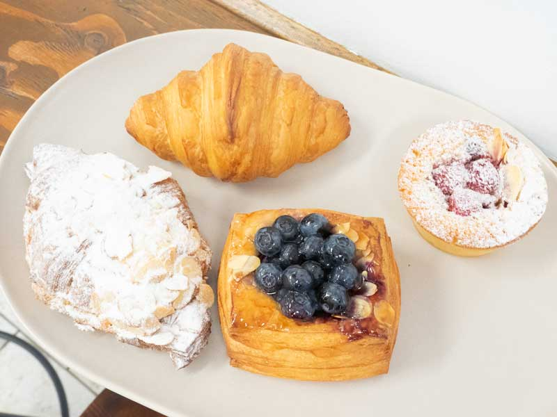 Pastries at Icky Stick Patisserie