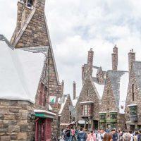 Hogsmead village at Harry Potter World in Universal Studios Japan