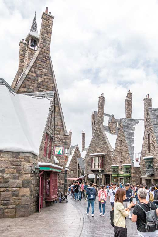 Hogsmead village at Harry Potter World in Universal Studios Japan