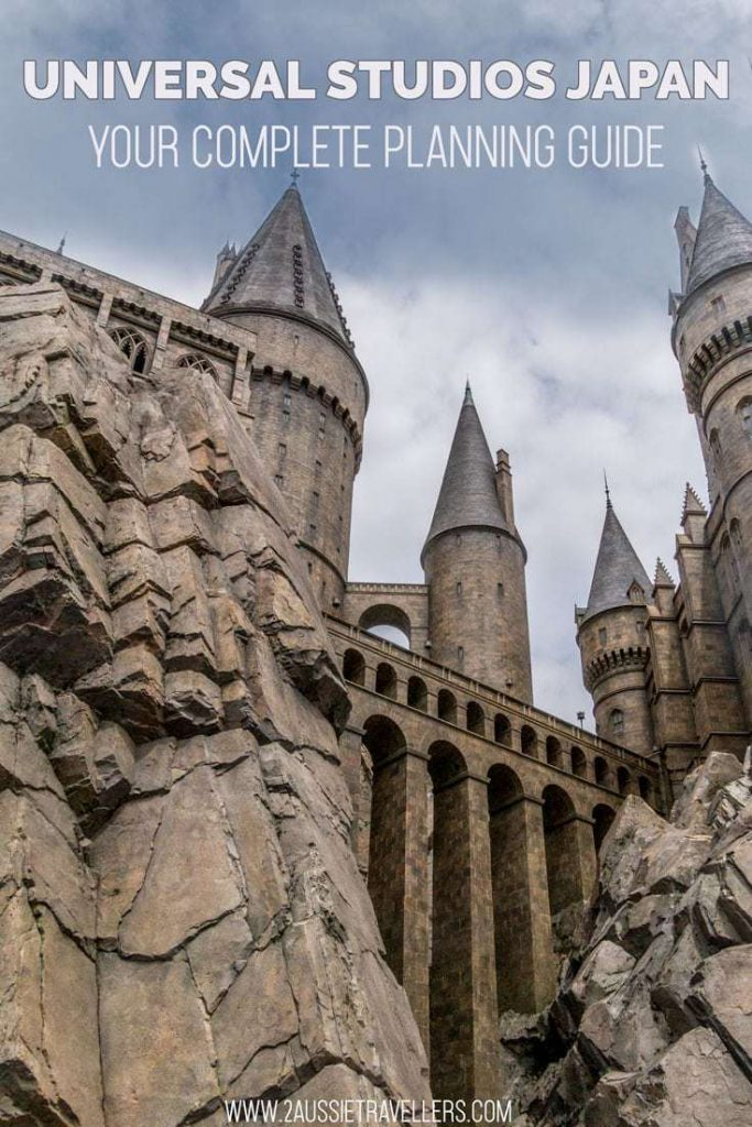 Universal studios Japan harry potter world guide