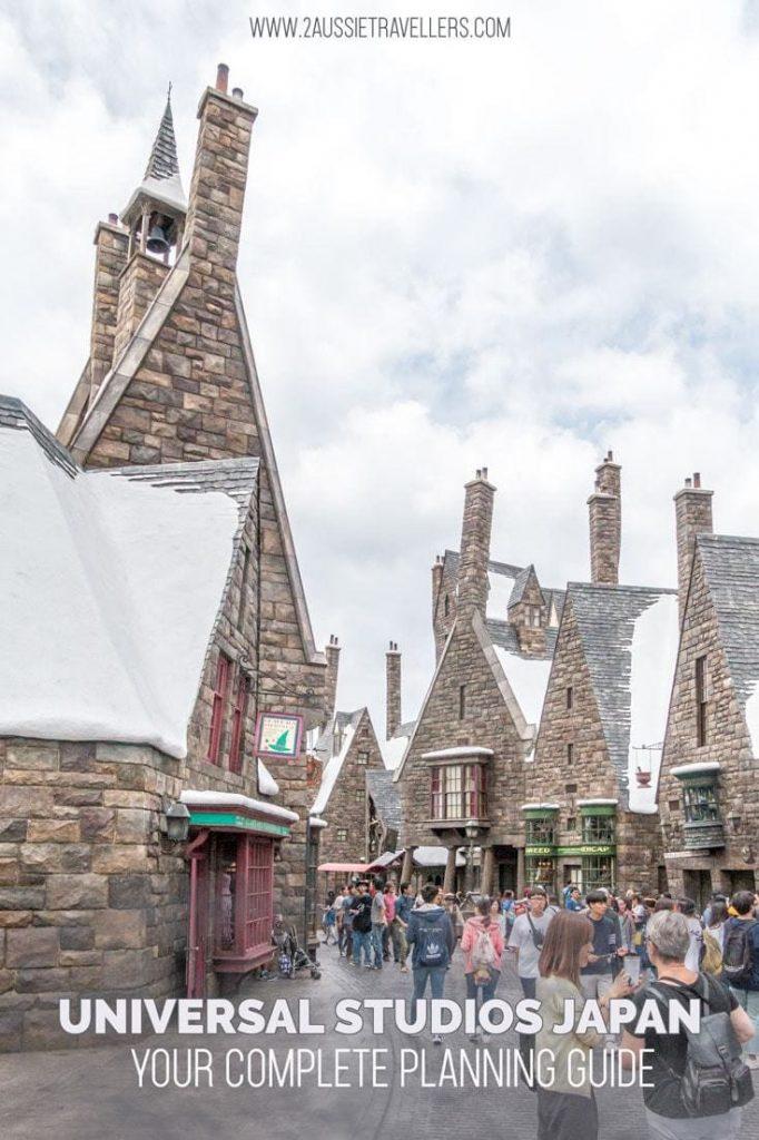 Universal studios japan harry potter world guide