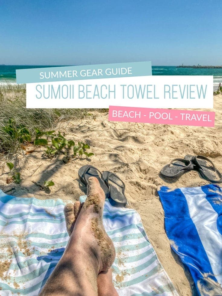 Sumoii beach towel