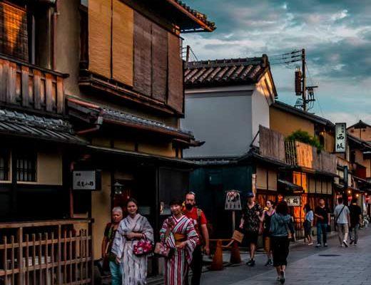 Gion at dusk