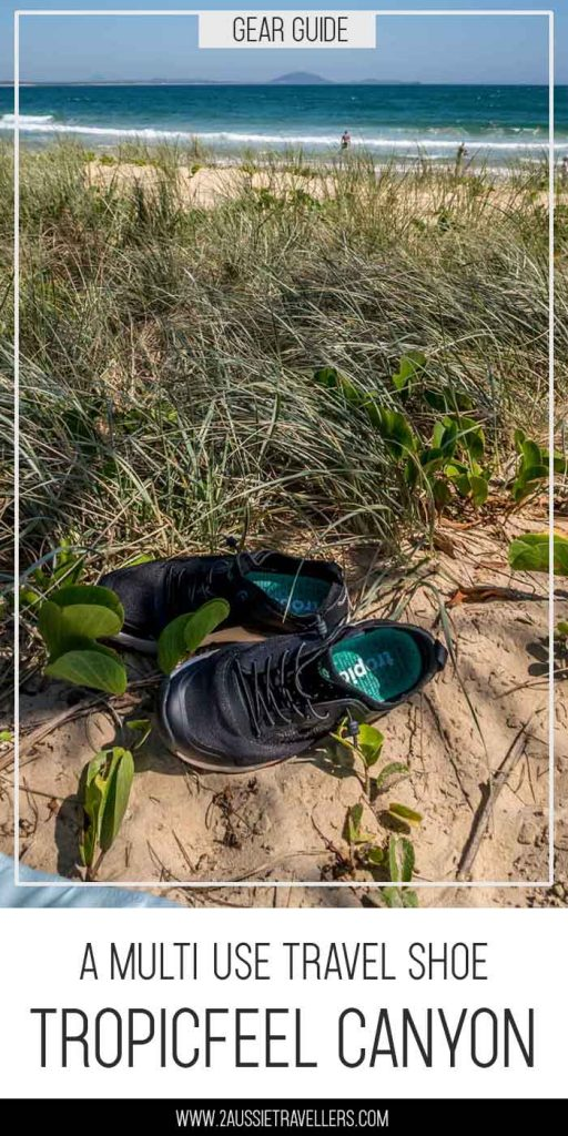 Tropicfeel Canyon travel shoe Pinterest poster