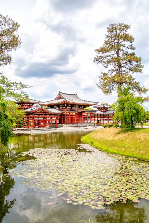 Famous temple in Uji