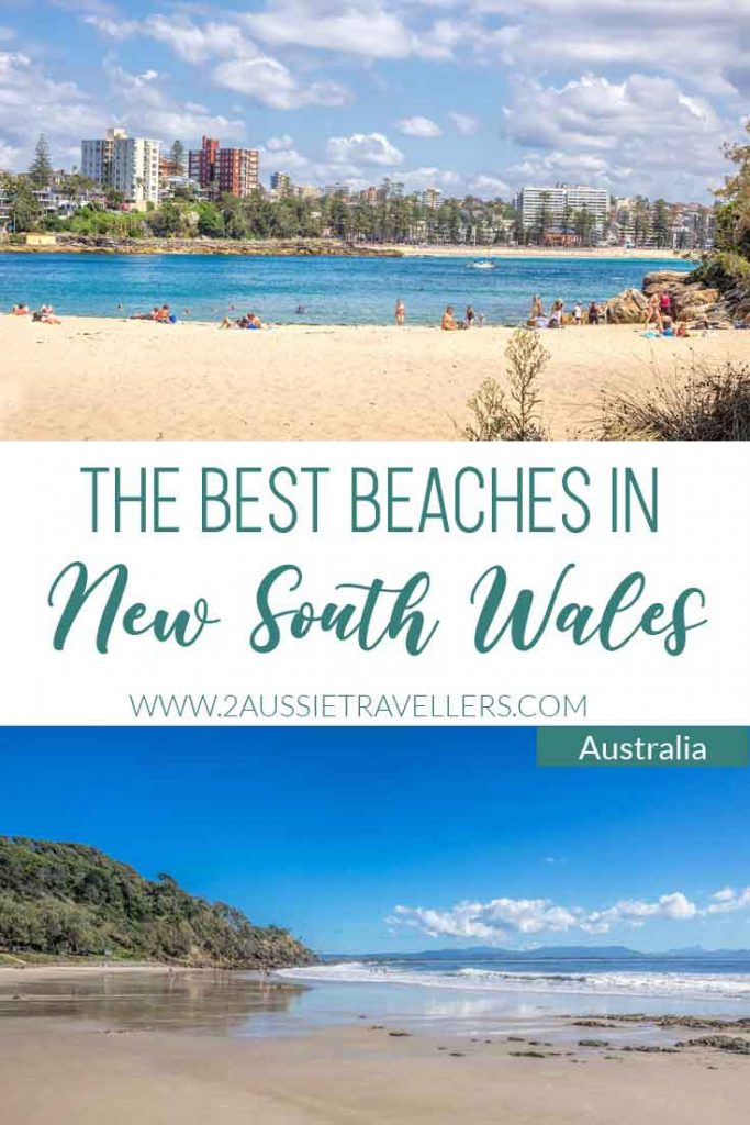 Poster for best beaches in NSW