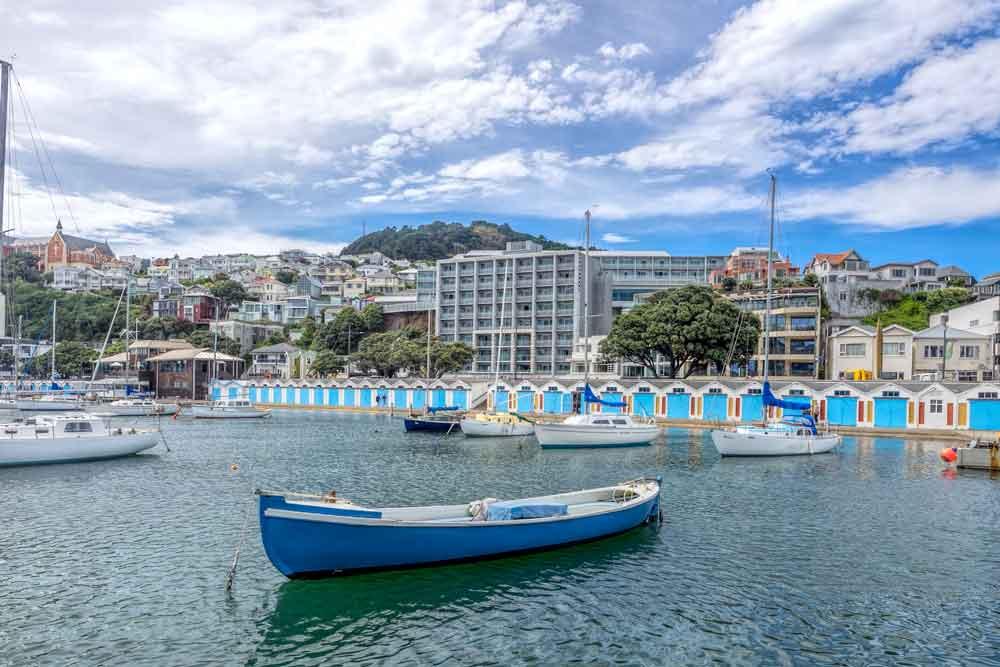 Chaffers marina boat sheds