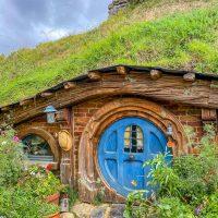 Hobbit hole at Hobbiton Movie Set