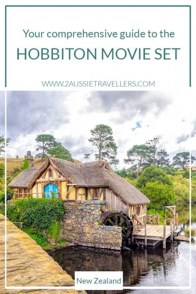 Planning to visit Hobbiton New Zealand poster