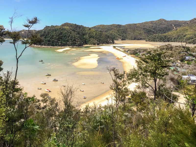 Torrent Bay in the Abel Tasman, New Zealand