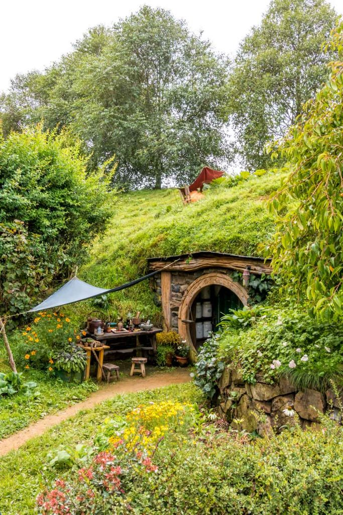 Hobbit hole in The Shire, Hobbiton