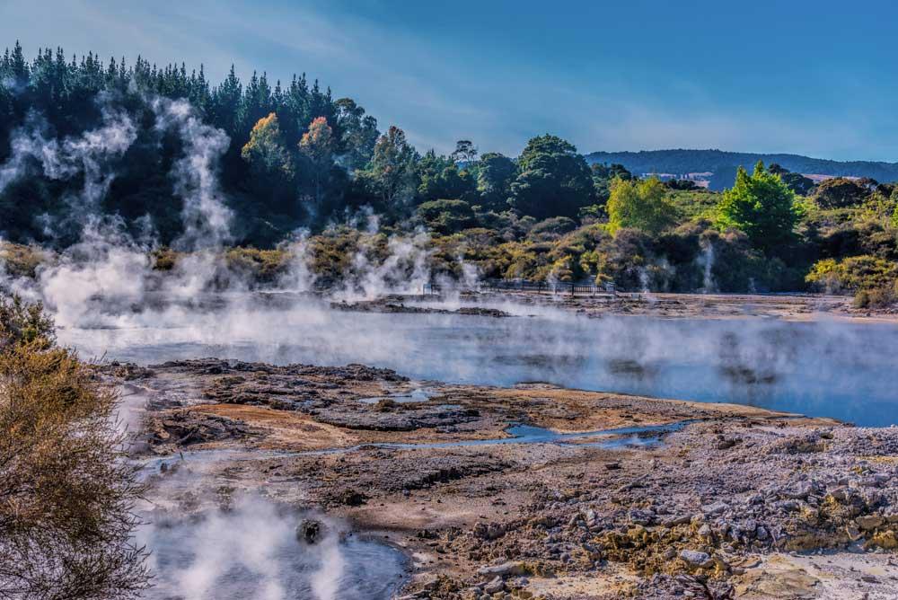 Hells Gate thermal water