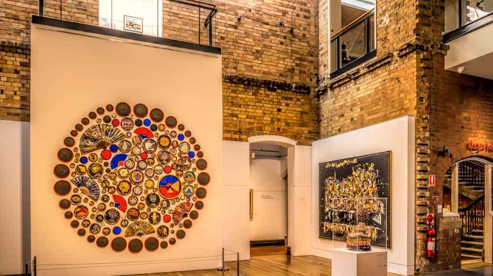Inside Maitlands Regional Art Gallery