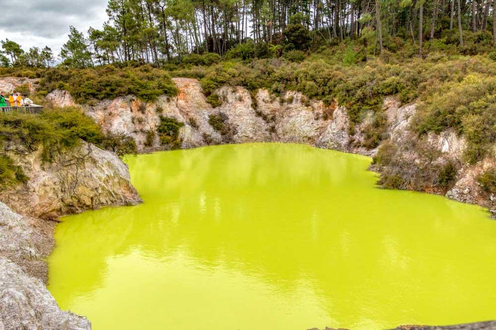 Roto Karikitea pool at Wai-o-tapu