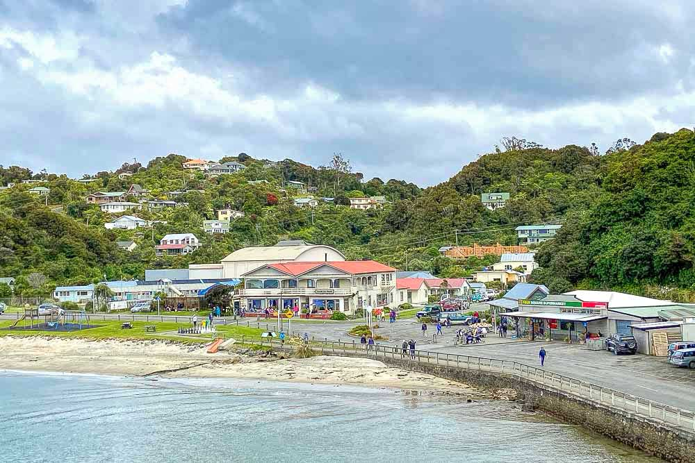 Township on Stewart Island, New Zealand