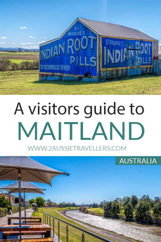 Things to do in Maitland pinterest poster