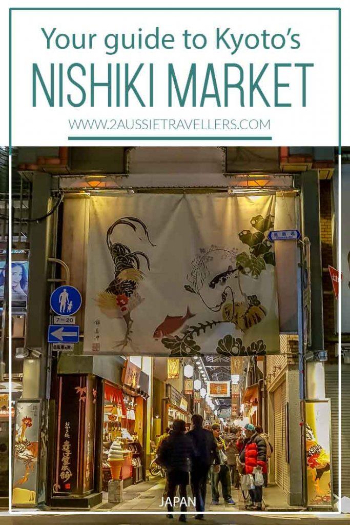 Nishiki Market Pinterest poster
