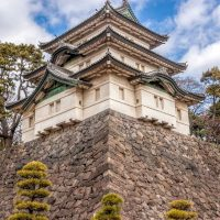 Guard turret at Tokyo Imperial Palace