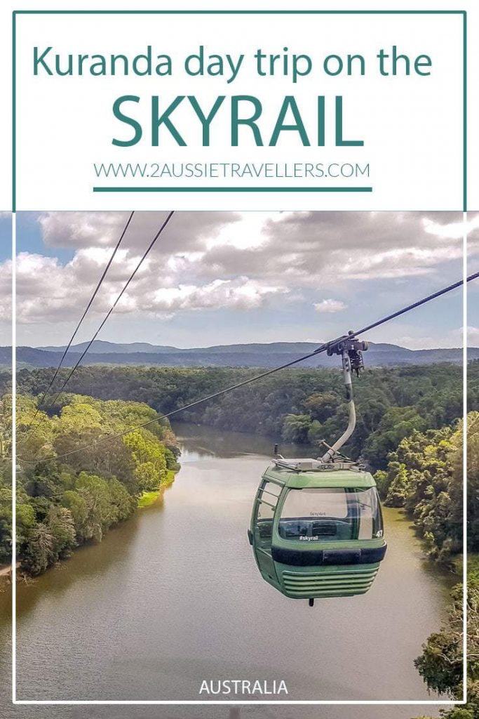 Skyrail over the rainforest and river is one of many things to do in Kuranda