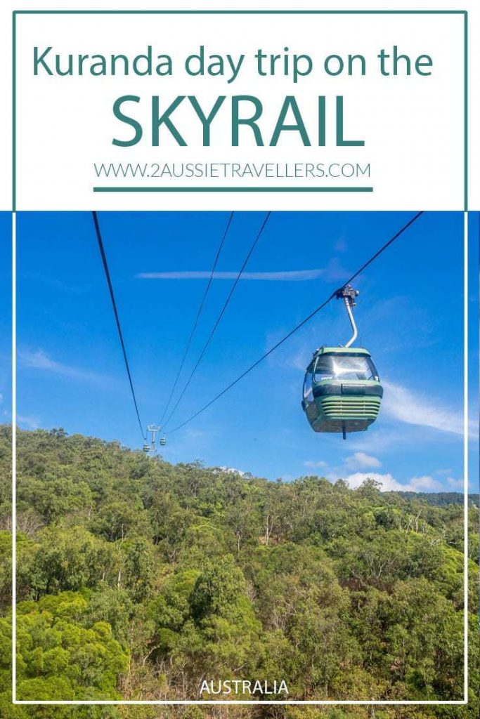 View from skyrail back to mountain