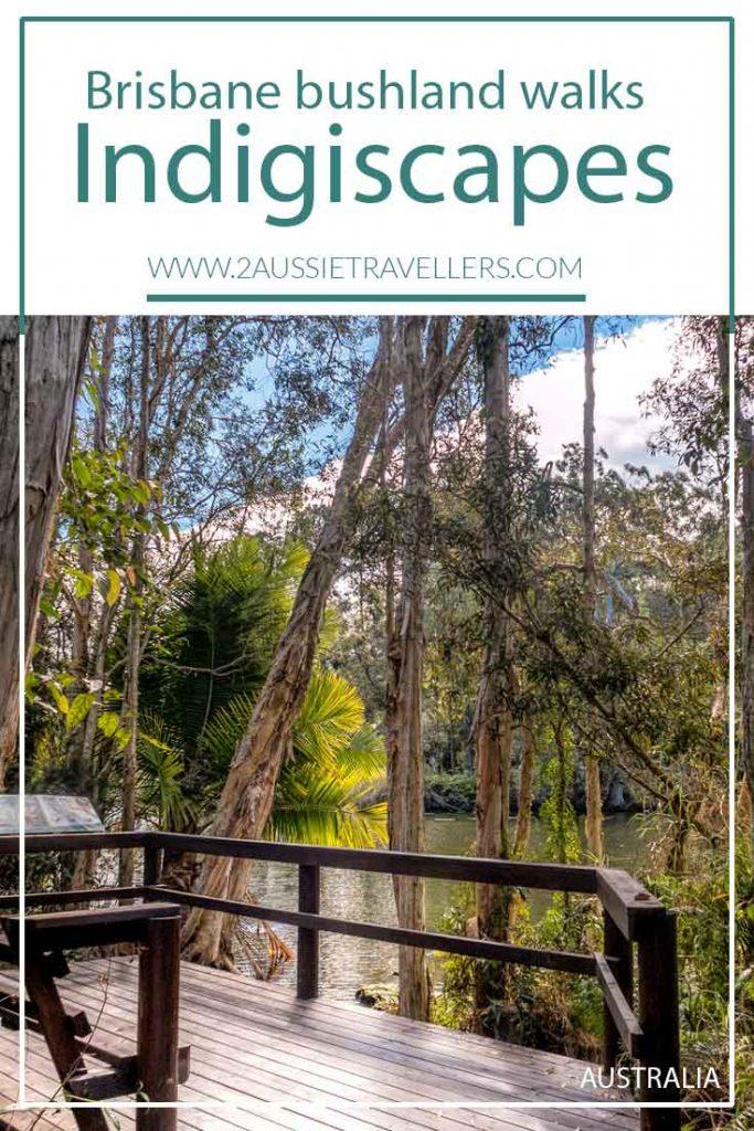 Indigiscapes brisbane bushland poster