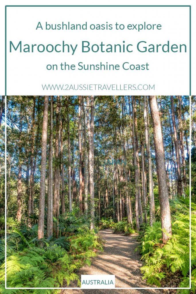 Maroochy botanic garden pinteret poster