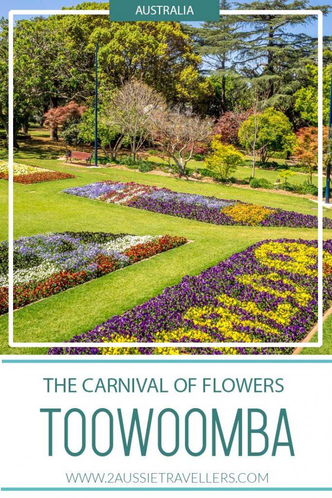 Toowoomba flower festival pinterest poster
